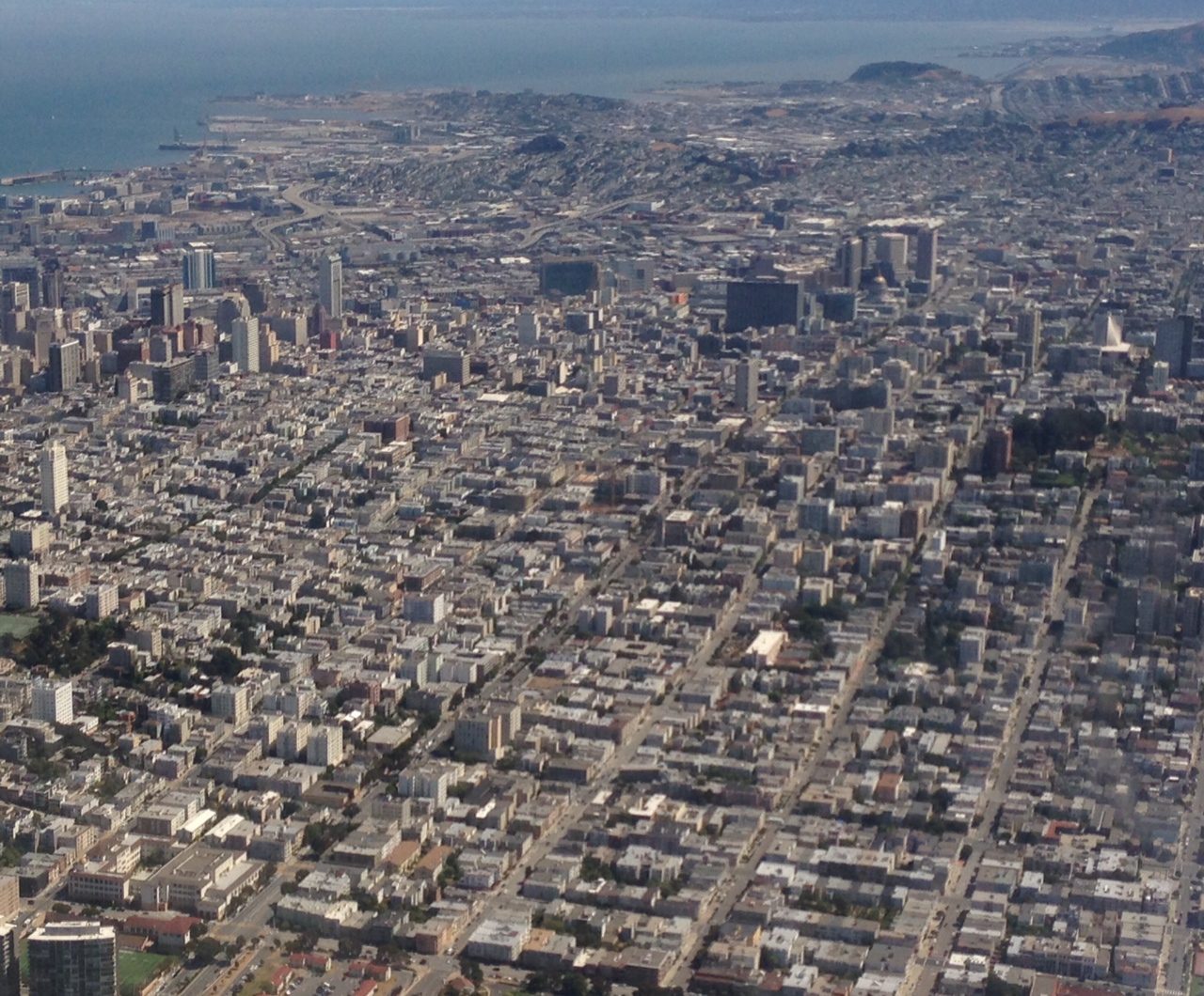Bird's Eye View of San Francisco