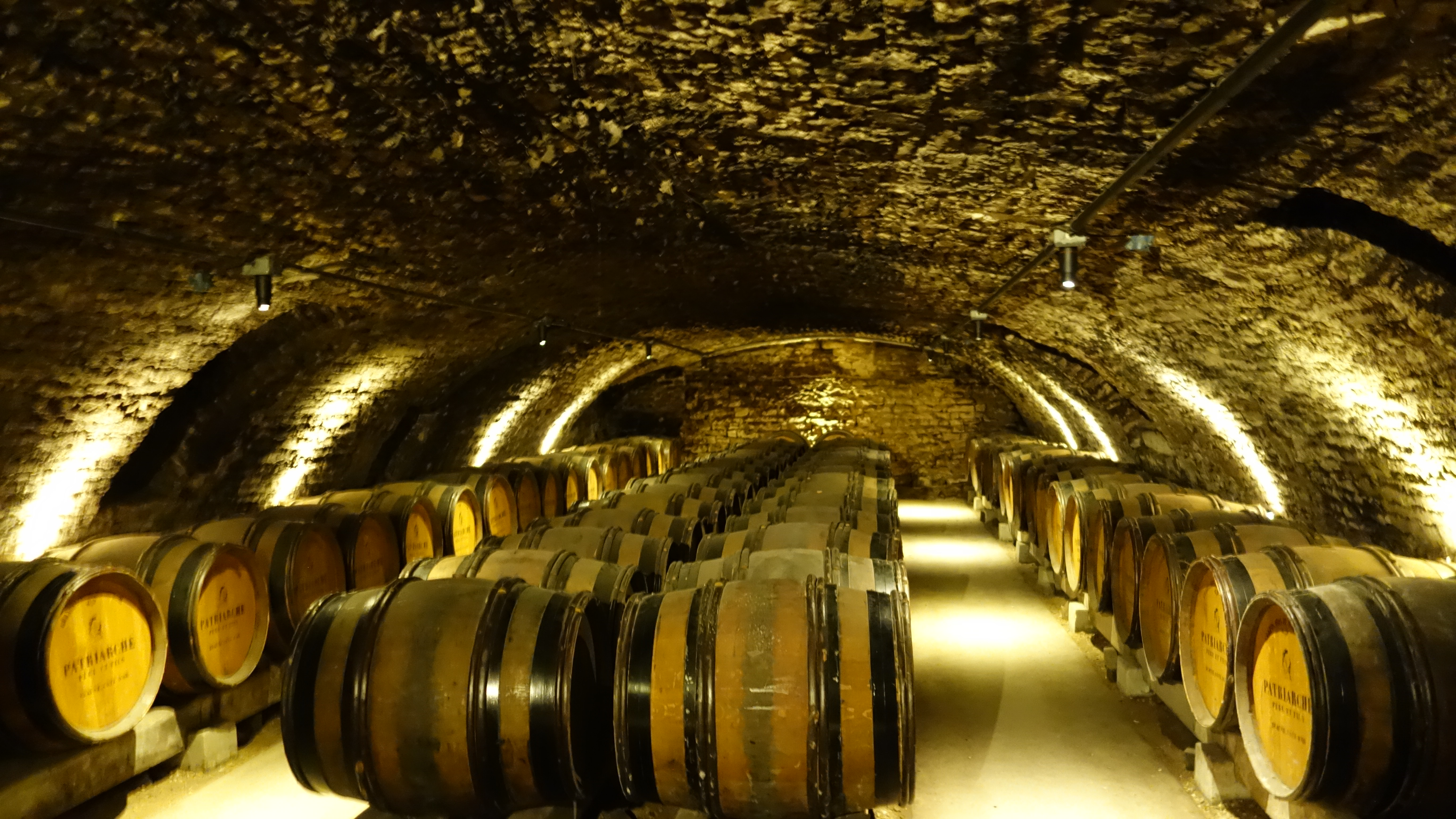 Patriarche Wine Cellar in Beaune.