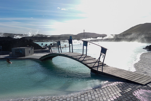 Blue Lagoon, located in a lava field in Grindavík on the Reykjanes Peninsula, southwestern Iceland.