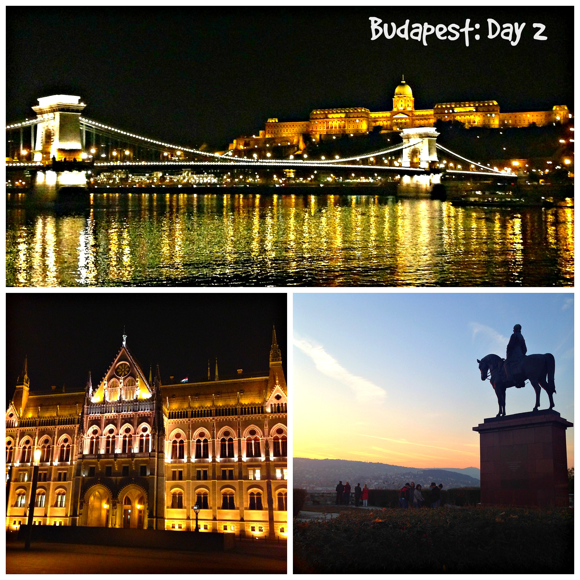 Széchenyi Chain Bridge, Buda Castle, Parliament, & Buda Viewpoint