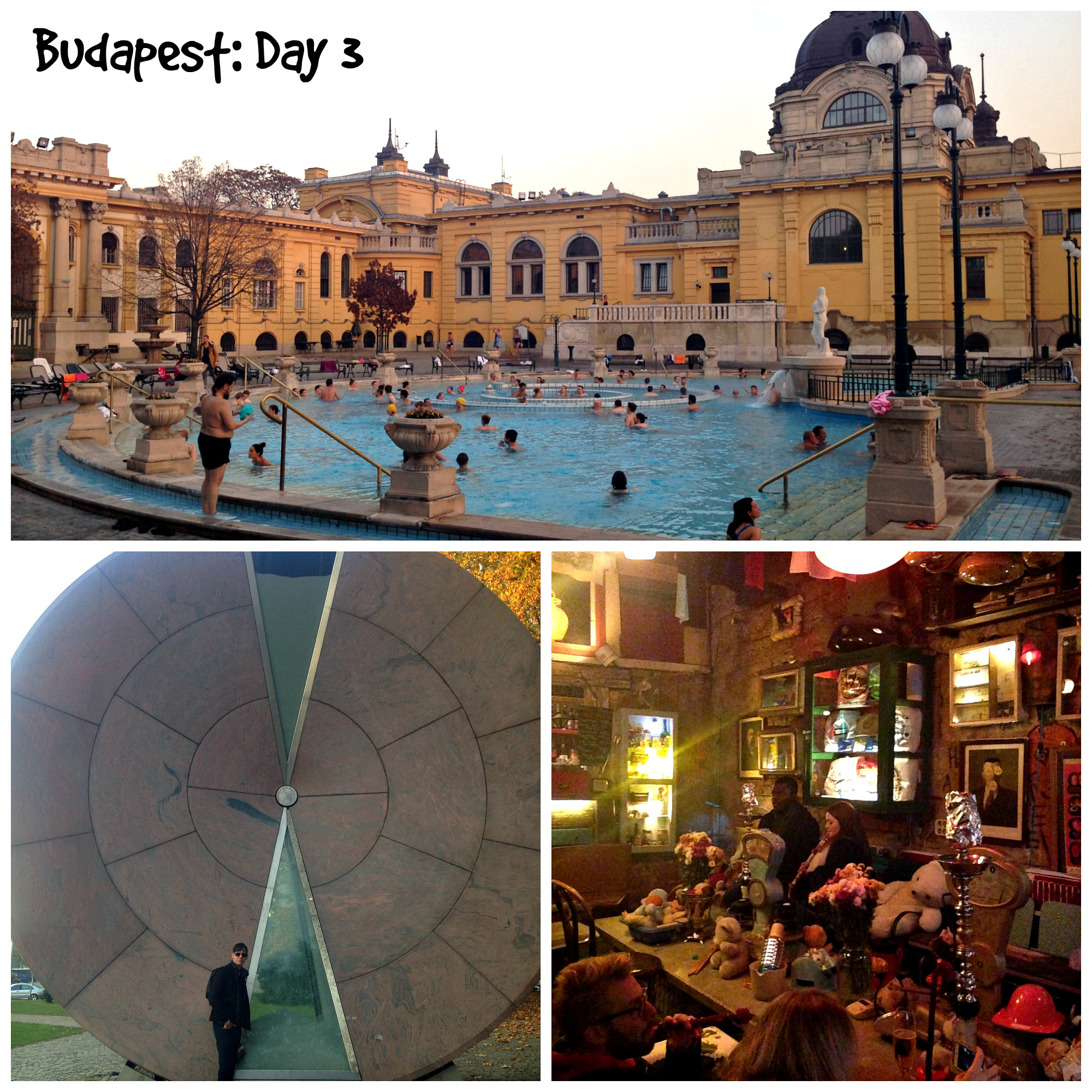 Szechenyi Thermal Baths, City Park, Szimpla Kert Ruin Pub