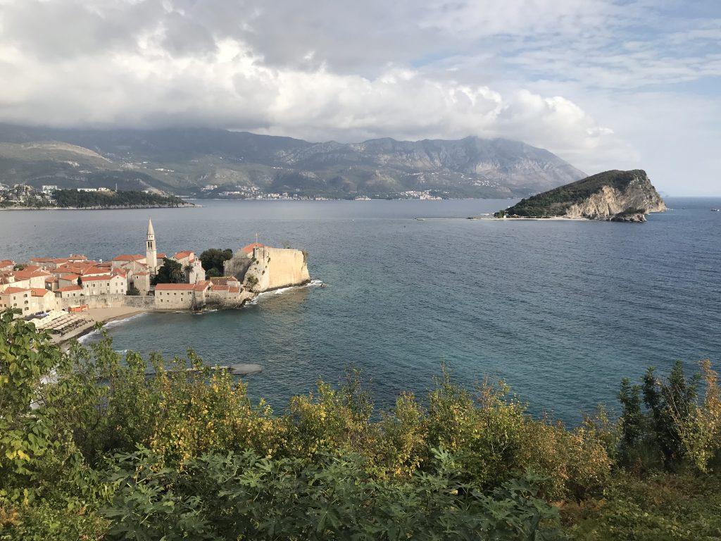 budva montenegro view